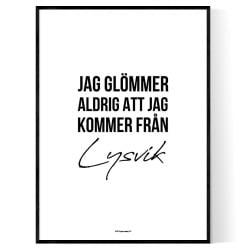 Från Lysvik
