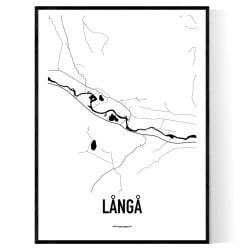 Långå Karta