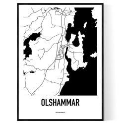 Olshammar Karta