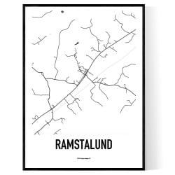 Ramstalund Karta