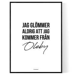 Från Oleby