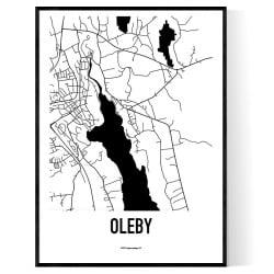 Oleby Karta