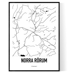 Norra Rörum Karta