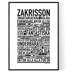 Zakrisson Poster