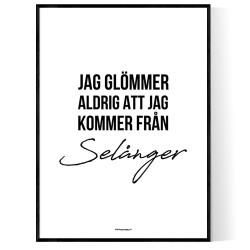 Från Selånger