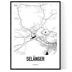 Selånger Karta