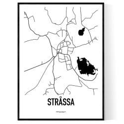 Stråssa Karta