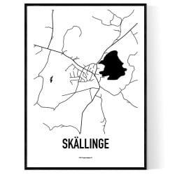 Skällinge Karta