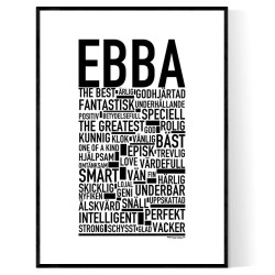 Ebba Poster
