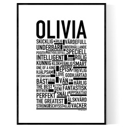 Olivia Poster