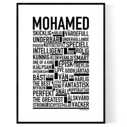 Mohamed Poster