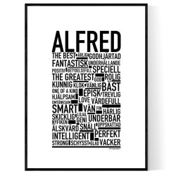 Alfred Poster