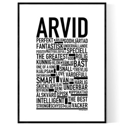 Arvid Poster
