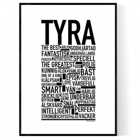 Tyra Poster