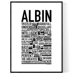 Albin Poster