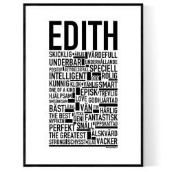 Edith Poster