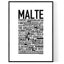 Malte Poster