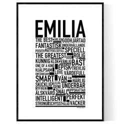 Emilia Poster