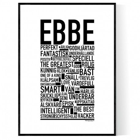 Ebbe Poster