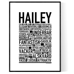 Hailey Poster