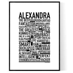Alexandra Poster