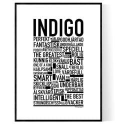 Indigo Poster