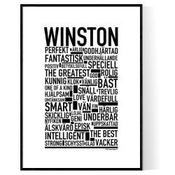 Winston Poster