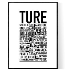 Ture Poster