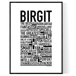 Birgit Poster