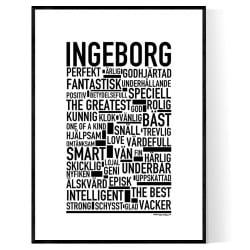 Ingeborg Poster