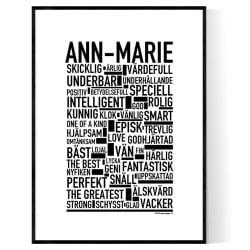 Ann-Marie Poster