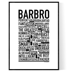 Barbro Poster