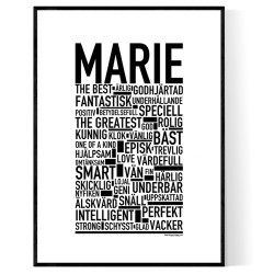 Marie Poster