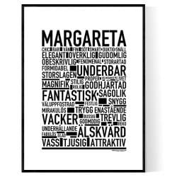 Margareta Poster