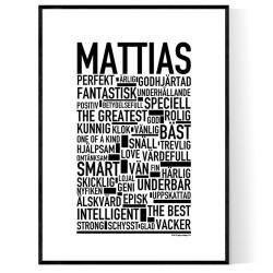 Mattias Poster