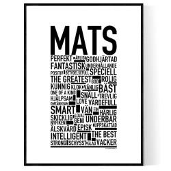Mats Poster