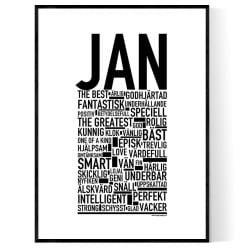 Jan Poster