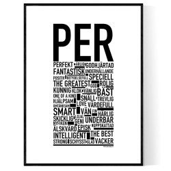 Per Poster