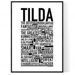 Tilda Poster