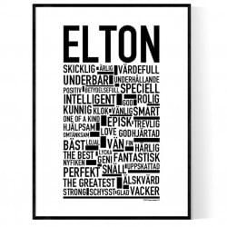 Elton Poster