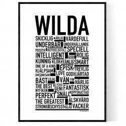 Wilda Poster