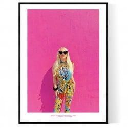 Pink Melrose Poster