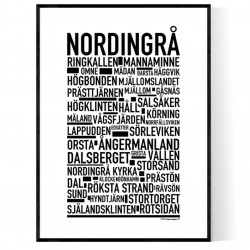 Nordingrå Poster