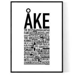 Åke Poster