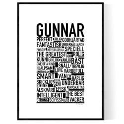 Gunnar Poster