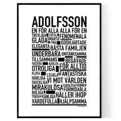 Adolfsson Poster