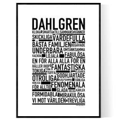 Dahlgren Poster