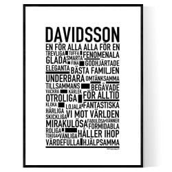Davidsson Poster