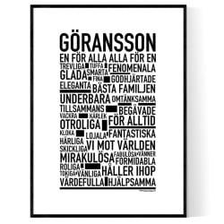 Göransson Poster