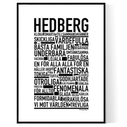 Hedberg Poster